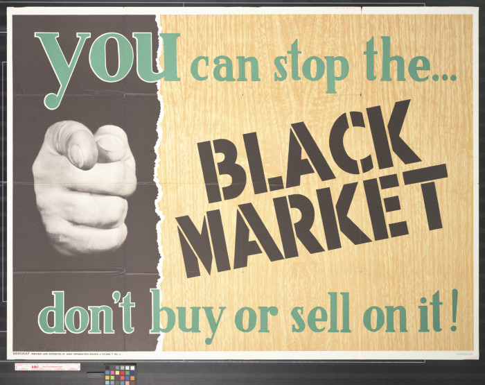 the black market A black market, underground economy, or shadow economy is a clandestine  market or transaction that has some aspect of illegality or is characterized by  some.