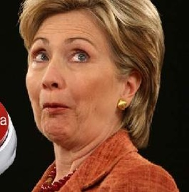 Hillary Clinton With Funny Face_thumb[3]